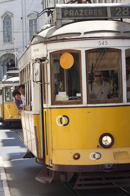 Tram n° 28-Lisbona