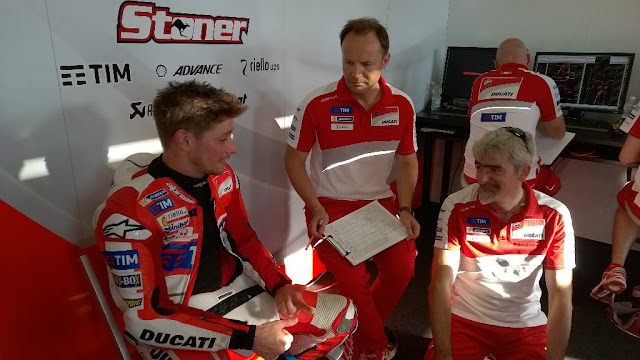 Hasil Tes Stoner Bersama Ducati di Misano