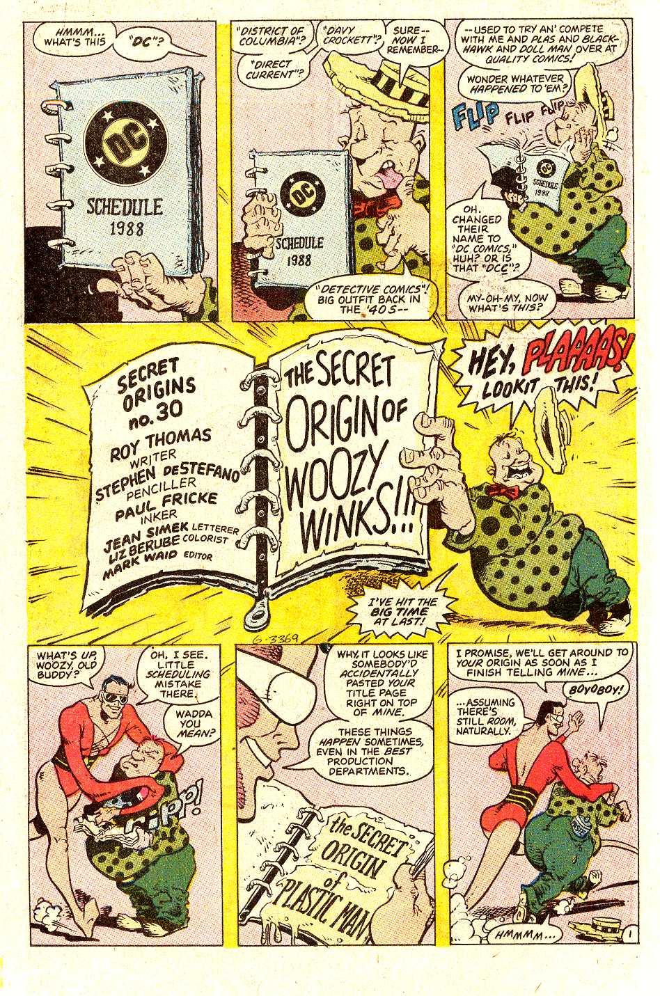 Read online Secret Origins (1986) comic -  Issue #30 - 22