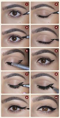 Cara Memakai Eyeliner Untuk Pemula