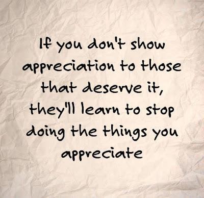 Inspirational Appreciation Quotes