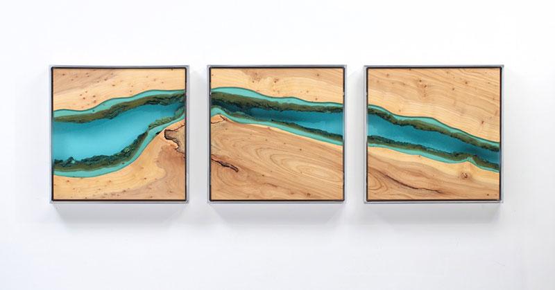 river art murals by greg klassen. Black Bedroom Furniture Sets. Home Design Ideas