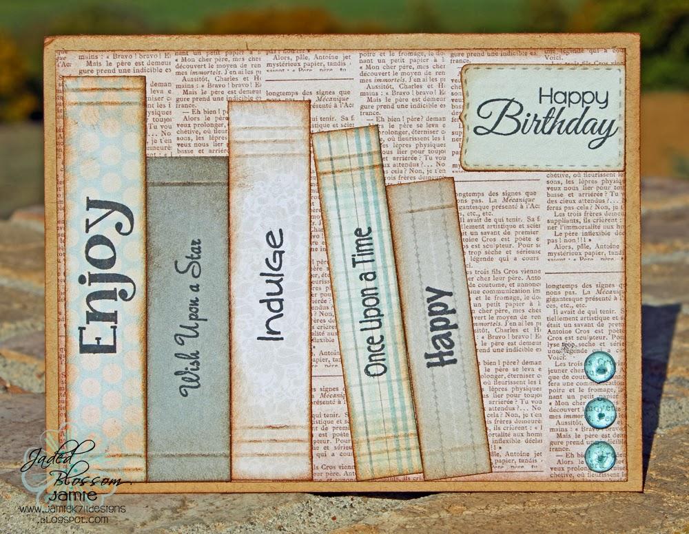 Jamiek711 Designs: Birthday Cards and A Quick Halloween Treat!
