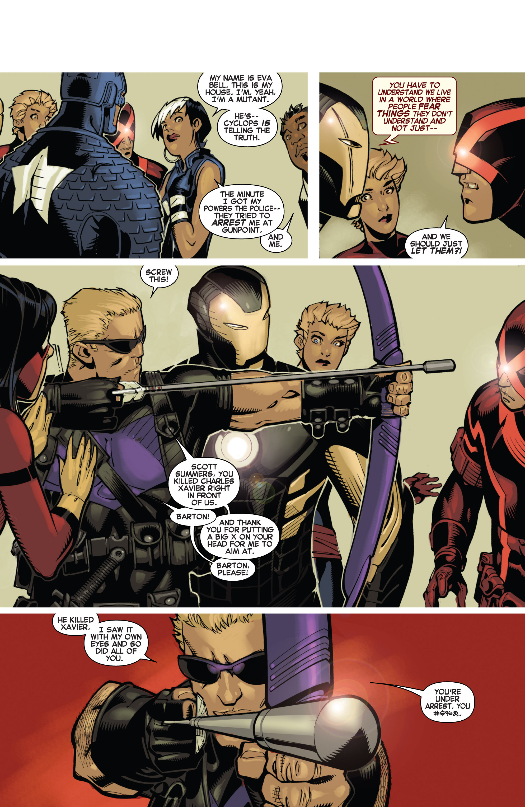 Read online Uncanny X-Men (2013) comic -  Issue # _TPB 1 - Revolution - 53