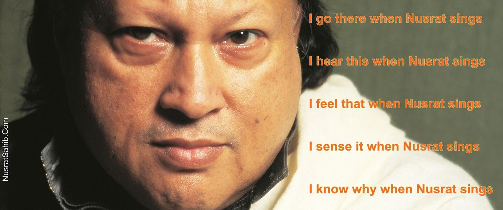 When Nusrat Sings | NusratSahib.Com