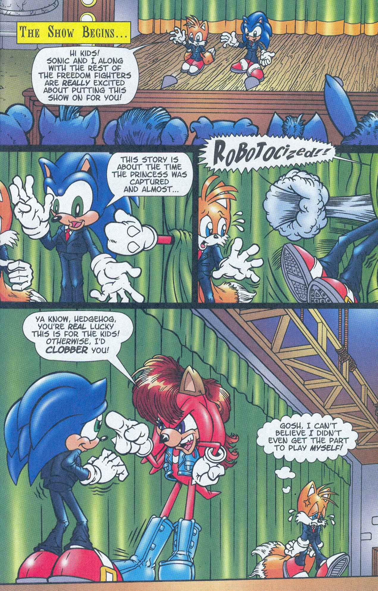 Read online Sonic The Hedgehog comic -  Issue #148 - 15