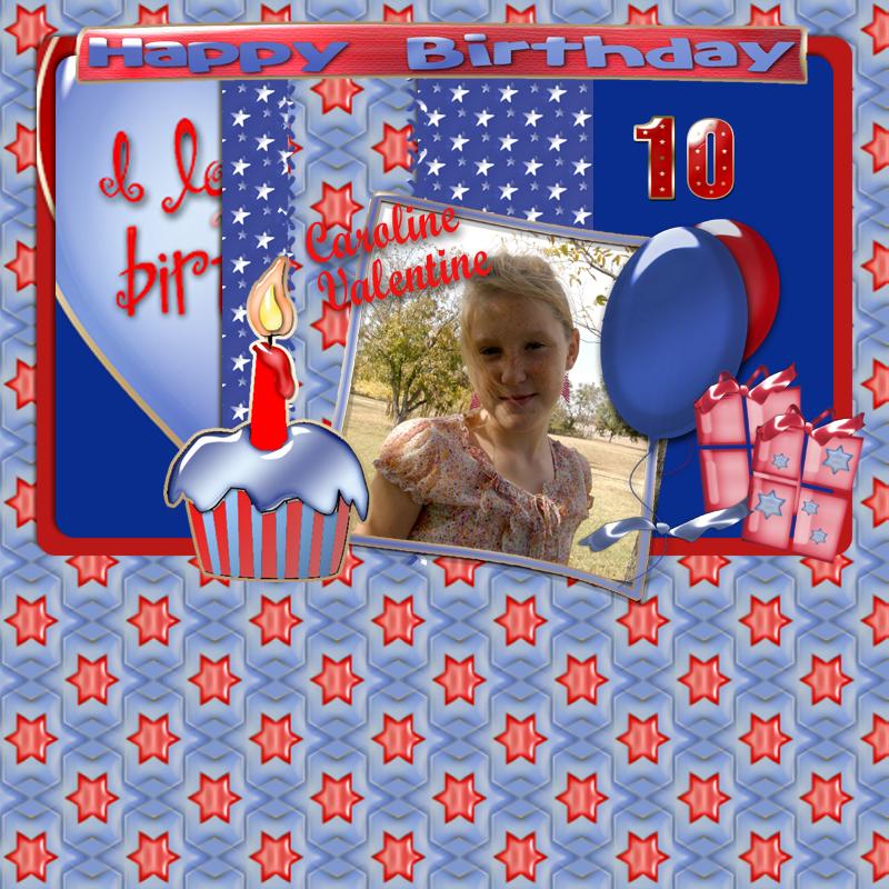 Food Gratitude: Happy Birthday, Caroline Valentine