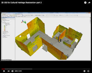 3D GIS for Cultural Heritage Restoration- part 2