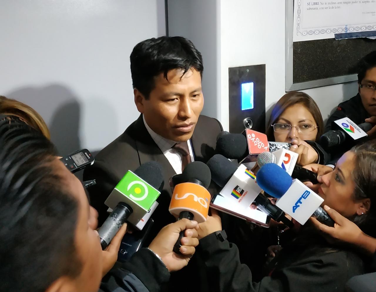 Fiscal Flores explica el modus operandi del profesional informático / ÁNGEL SALAZAR
