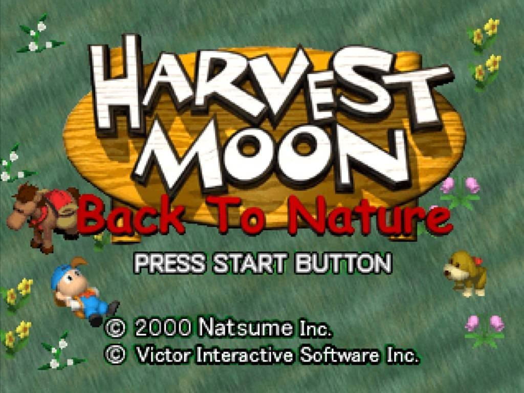 Ebook Harvest Moon Back To Nature