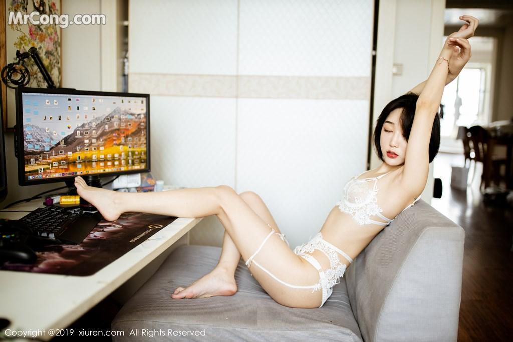 Image XIUREN-No.1626-Xiao-Jiu-Yue-MrCong.com-006 in post XIUREN No.1626: Xiao Jiu Yue (小九月) (63 ảnh)