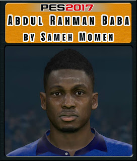 PES 2017 Faces Abdul Rahman Baba by Sameh Momen