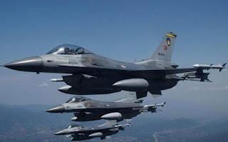 Νέες παραβιάσεις τουρκικών F-16 πάνω από το Αιγαίο