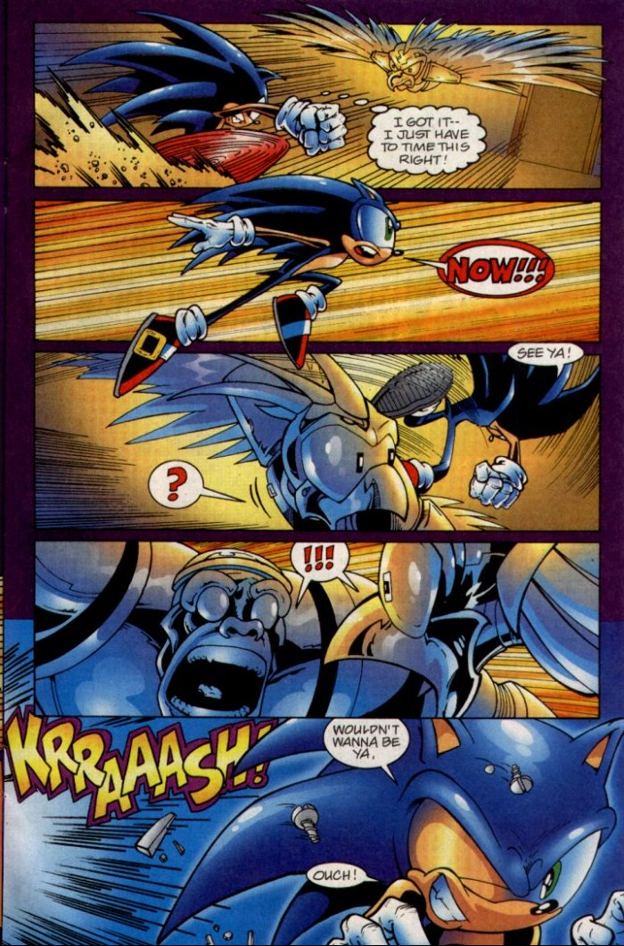 Read online Sonic The Hedgehog comic -  Issue #135 - 11