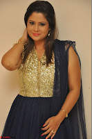 Shilpa Chakravarthy anchor and actress in anarkali dress  Exclusive 009.JPG