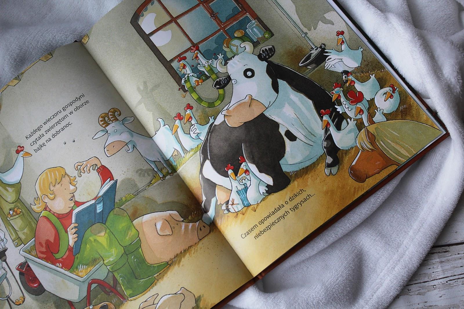 Krowa Matylda, do utraty tchu blog