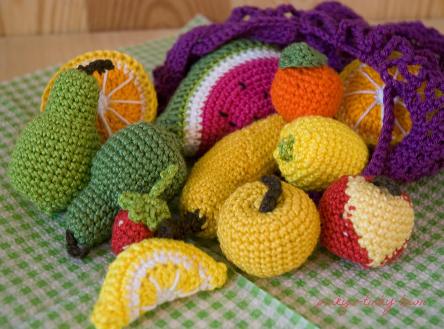 Früchte Häkeln Anleitung Kostenlos Kientruchome