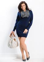 Rochie tricotată moderna (bonprix)