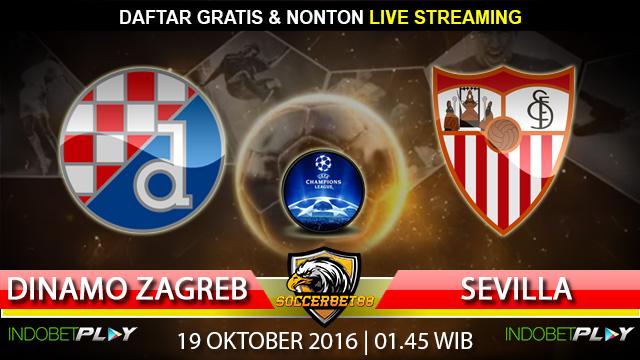 Prediksi Dinamo Zagreb vs Sevilla 19 Oktober 2016 (Liga Champions)