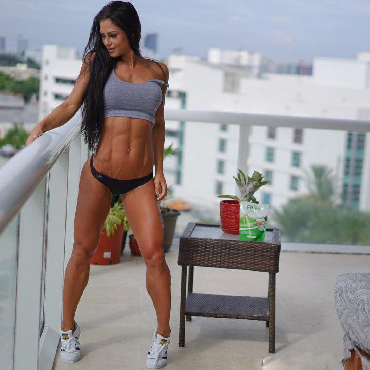 fitness model Anita Herbert