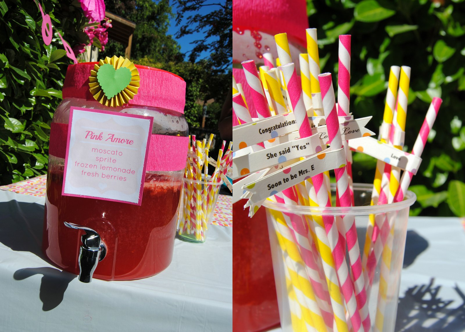 Tropical Bridal Shower: Hunger Fix: {Fun Fix} Tropical Bridal Shower