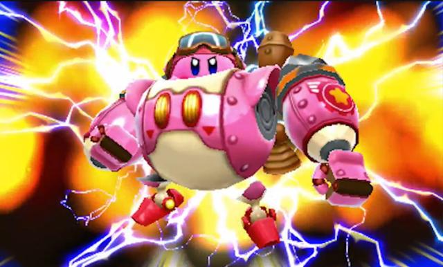 Kirby Planet Robobot mecha mech robot bot gundam