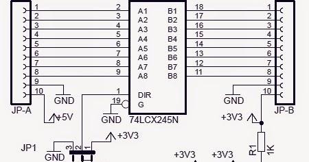 Electronic Project Bidirectional Logic Level Converter