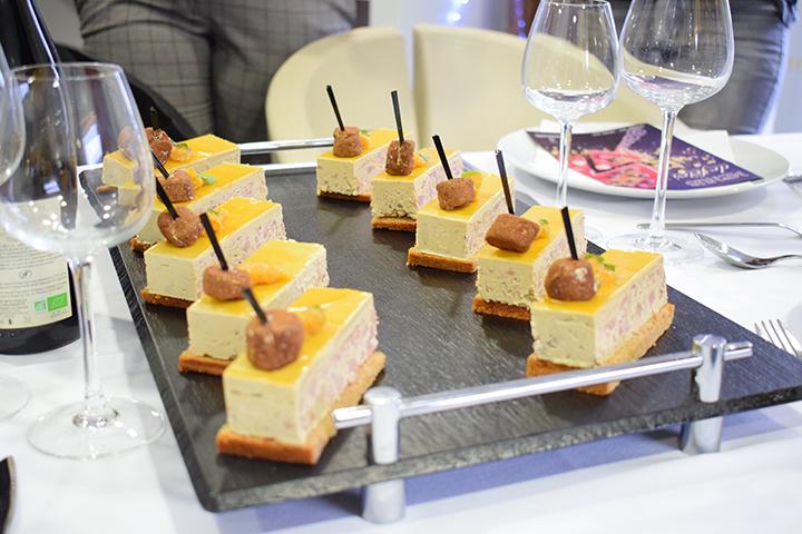 Opéra de foie gras Brossard Traiteur Tours