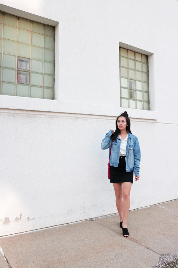 Denim Jacket, Casual Outfit, Spring, Trends