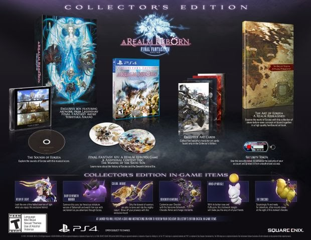 Final Fantasy XIV: A Realm Reborn Pre-orders Start Today For