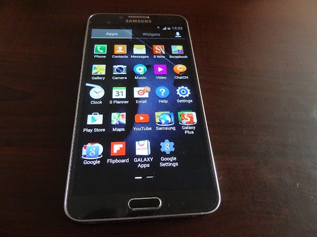 Samsung Galaxy Note 3 Neo unboxing