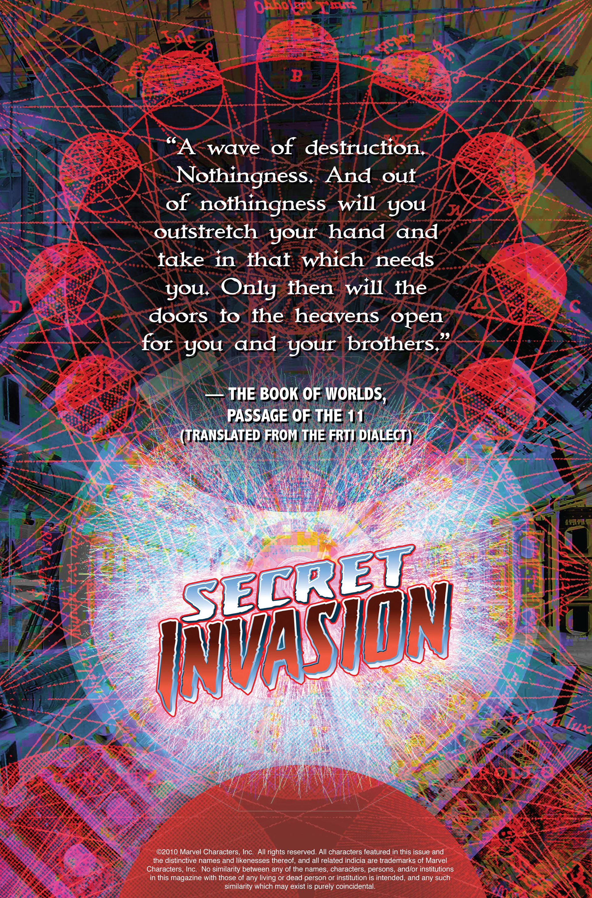 Read online Secret Invasion comic -  Issue #1 - 2