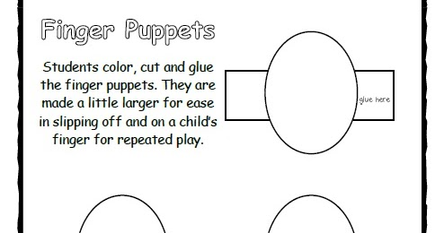 Lil country librarian what can you make with this finger for Frog finger puppet template