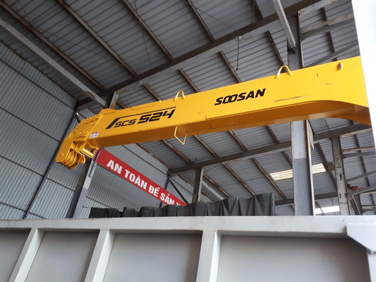 Bán xe tải cẩu Soosan 5 tấn tại Hải Phòng