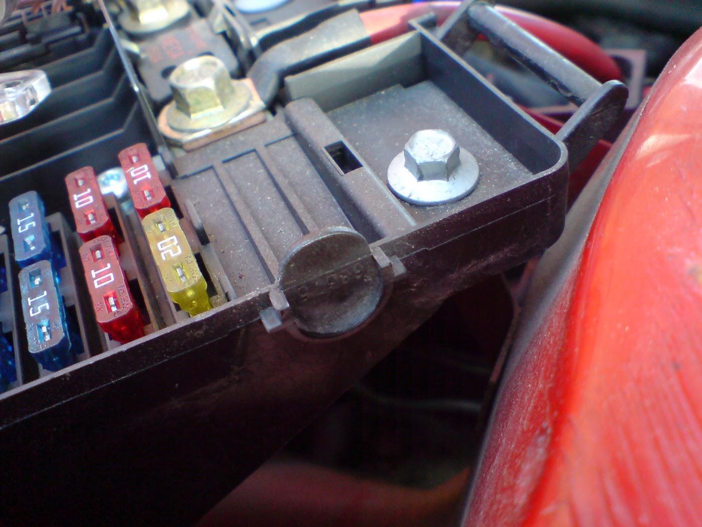 Rover 25 fuse box