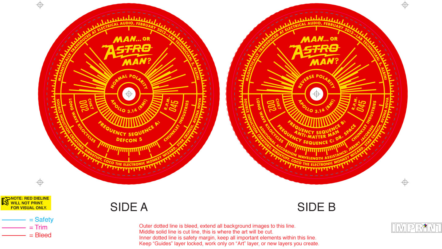 Astro Man Ad Nauseam Analog Series Volume 1