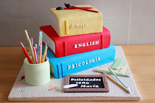 Resultado de imagen de tartas de libros