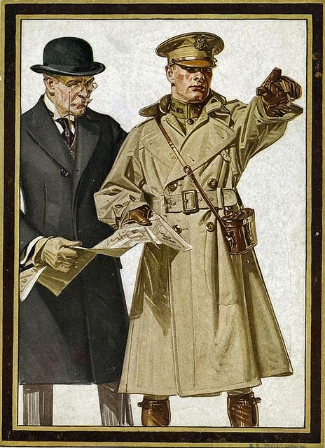 Trench Coat, Ww1 Trench Coat Pattern