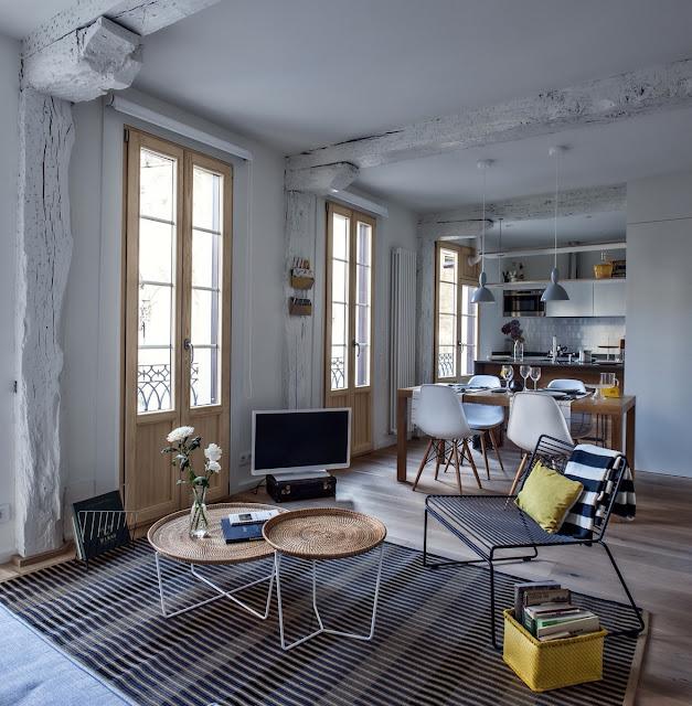 [Deco] De piso ruinoso a apartamento luminoso
