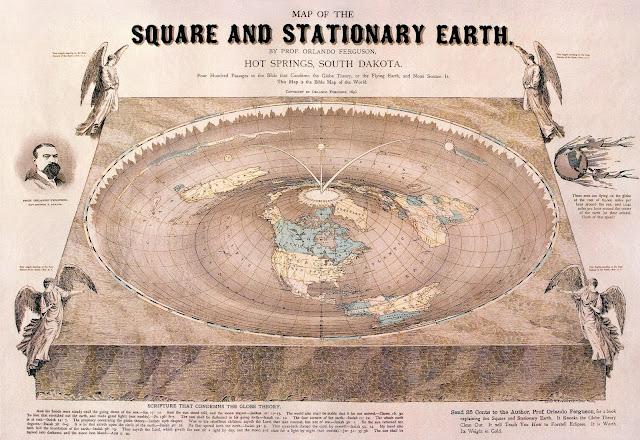 NASA Dan Flat Earth Salah, Ternyata Bentuk Bumi Sebenarnya Seperti Ini... - Bumi Datar