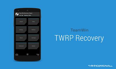 Tutorial Cara Mudah Membuat Sendiri Custom Recovery TWRP 2.8.2 Untuk Semua Device Mediatek (PC)