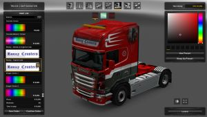Ronny Ceusters Metallic Skin for Scania RJL