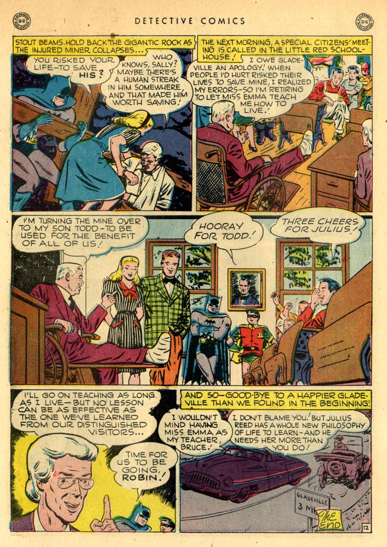Read online Detective Comics (1937) comic -  Issue #111 - 14