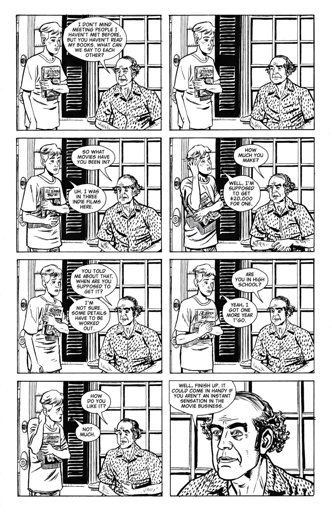Read online American Splendor (2008) comic -  Issue #1 - 7
