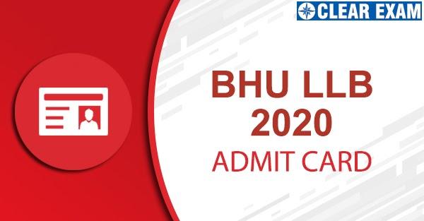 BHU LLB Admit Card 2020