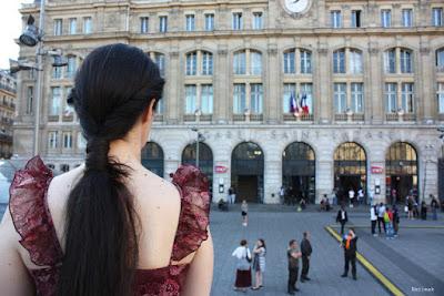 Parvis de la gare St Lazare