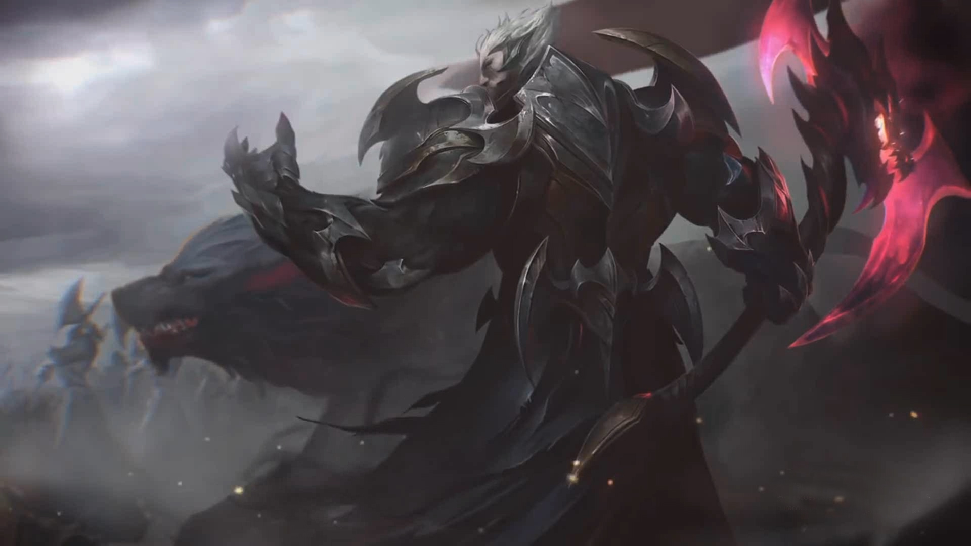 League Of Legends God King Darius Login Screen
