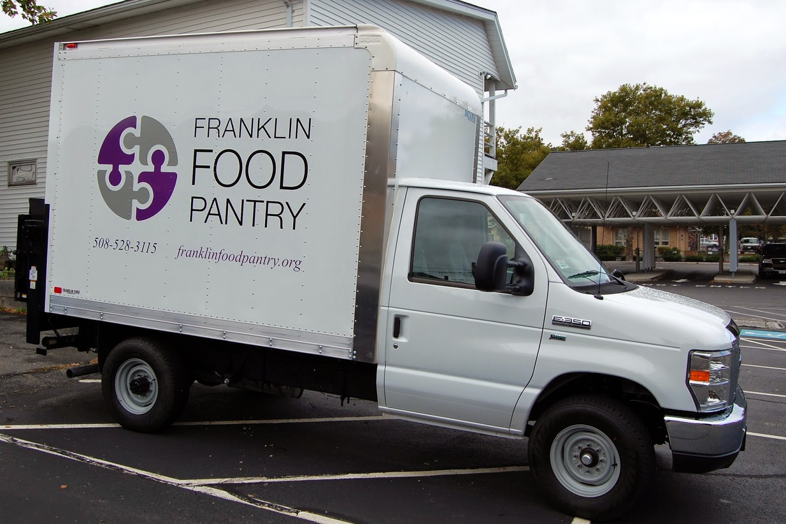 The new truck the Franklin Food Pantry will use to become 'mobile'