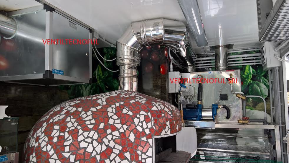 Abbattitore di fuliggine aspirazione depurazione cappe for Abbattitore fumi pizzeria