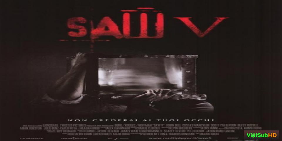 Phim Lưỡi Cưa 5 VietSub HD | Saw V 2008